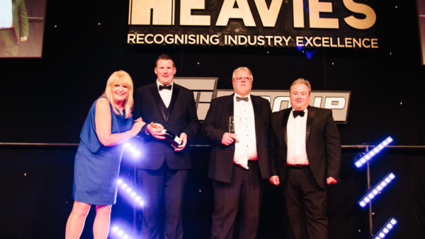The Heavies 2018, Most Significant Safety Initiative, Winner, Hutchinson Engineering Services, Mercedes-Benz Trucks UK